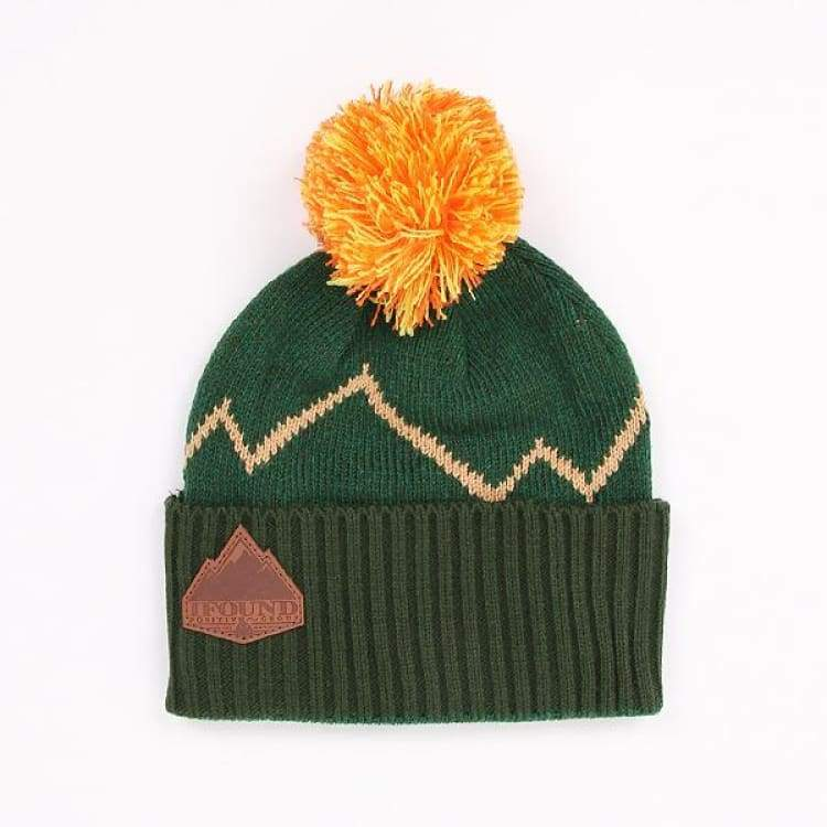 Headwear / Beanies: Ifound Jackman Beanie - 2Color - Ifound / Green / Accessories Beanies Black Green Head & Neck Wear |