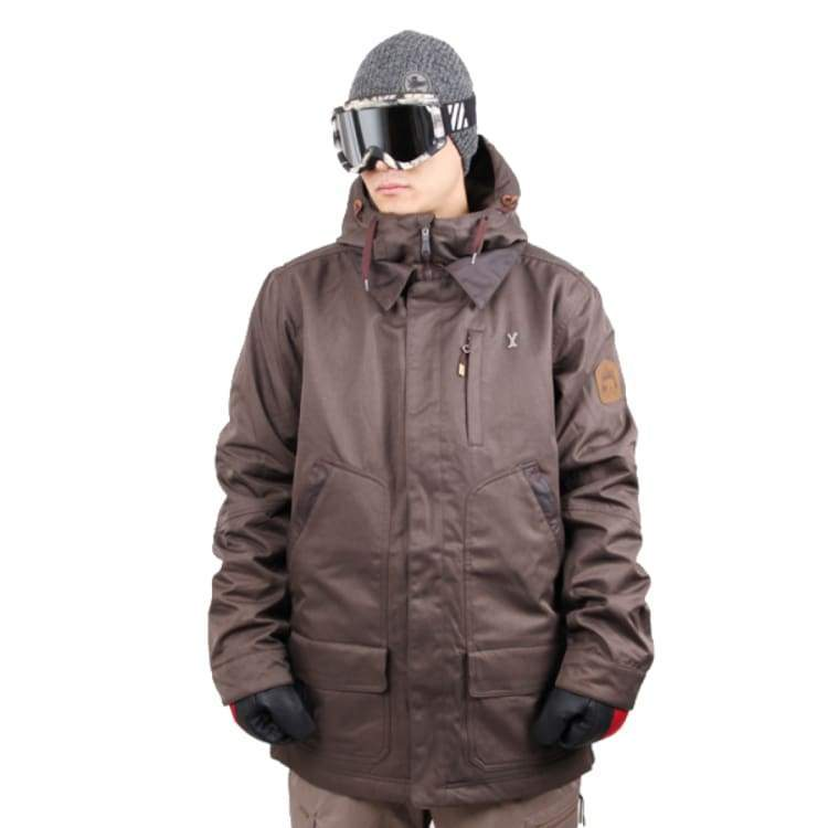 Jackets / Snow: Ifound Kazak 2 Jacket - Major Brown - S / Ifound / Brown / 1516 Brown Clothing Ice & Snow Ifound |