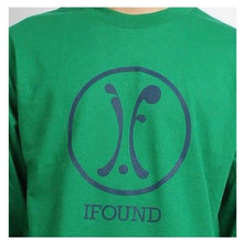 Tees / Long Sleeve: Ifound Logo Long Sleeve - Green - Clothing Green Ice & Snow Ifound Mens