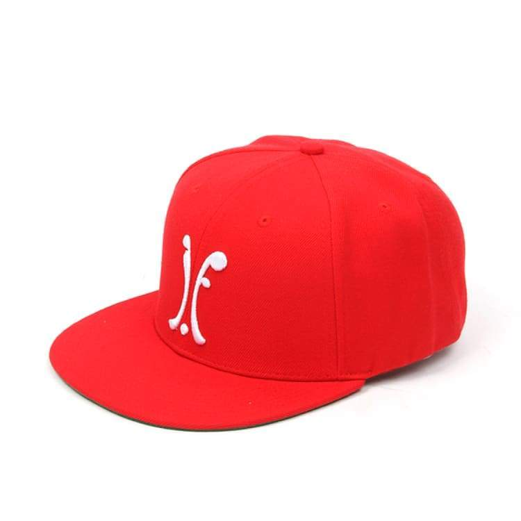 Headwear / Caps: Ifound Logo Snapback Cap - Red - Ifound / Red / Accessories Cap Head & Neck Wear Headwear / Caps Ice & Snow |