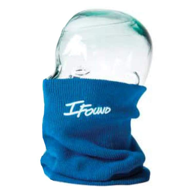 Neck Warmers: Ifound Louce Flavor Turtle Neck - Blue - Ifound / Blue / Accessories Blue Full Mask Head & Neck Wear Ice & Snow |
