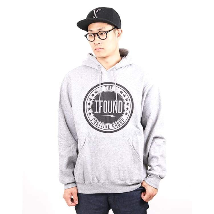 Hoodies & Sweaters: Ifound M.a.d Hood - Gray - Ifound / Gray / M / Clothing Gray Hoodies & Sweaters Ice & Snow Ifound |