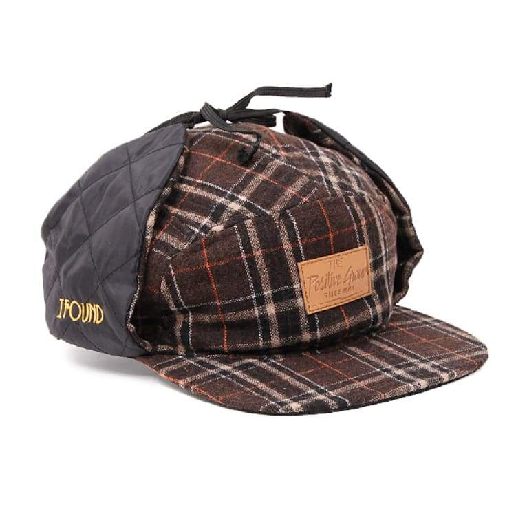 Headwear / Caps: Ifound Mtn Winter Cap - Brown - Ifound / Brown / Accessories Brown Cap Head & Neck Wear Headwear / Caps |