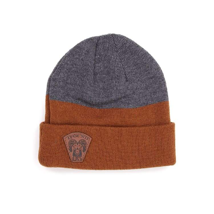Headwear / Beanies: Ifound Ram Beanie - Gray - Ifound / Gray / Accessories Beanies Gray Head & Neck Wear Headwear / Beanies |