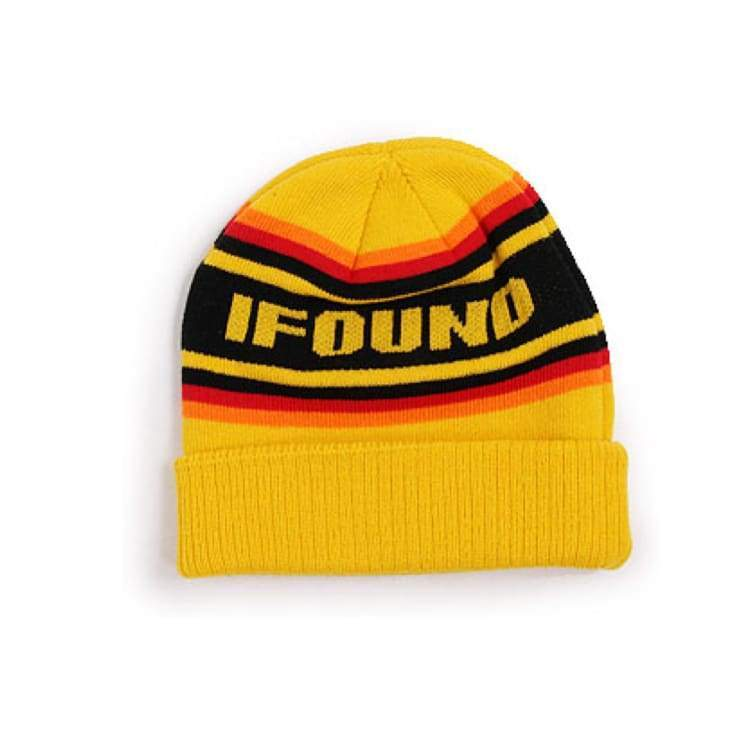Headwear / Beanies: Ifound Rpm Beanie - Yellow - Ifound / Yellow / Accessories Beanies Head & Neck Wear Headwear / Beanies Ice & Snow |