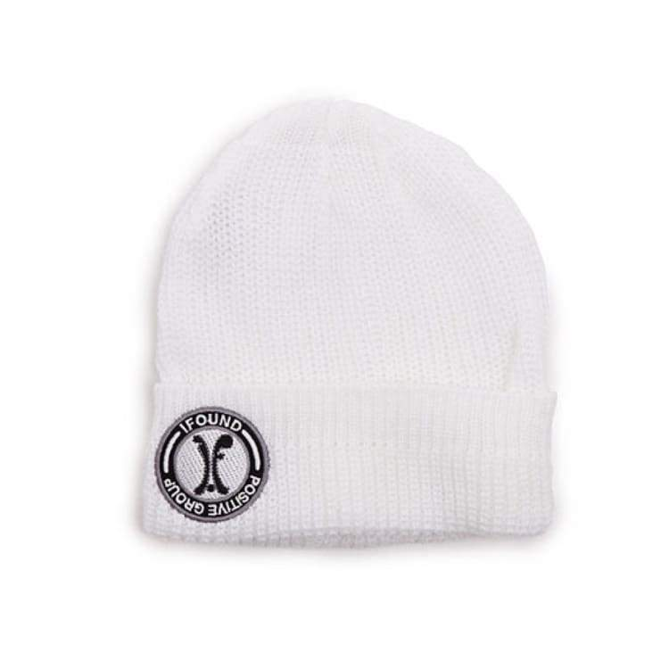 Headwear / Beanies: Ifound Thin Fold Beanie - White - Ifound / White / Accessories Beanies Head & Neck Wear Headwear / Beanies Ice & Snow |