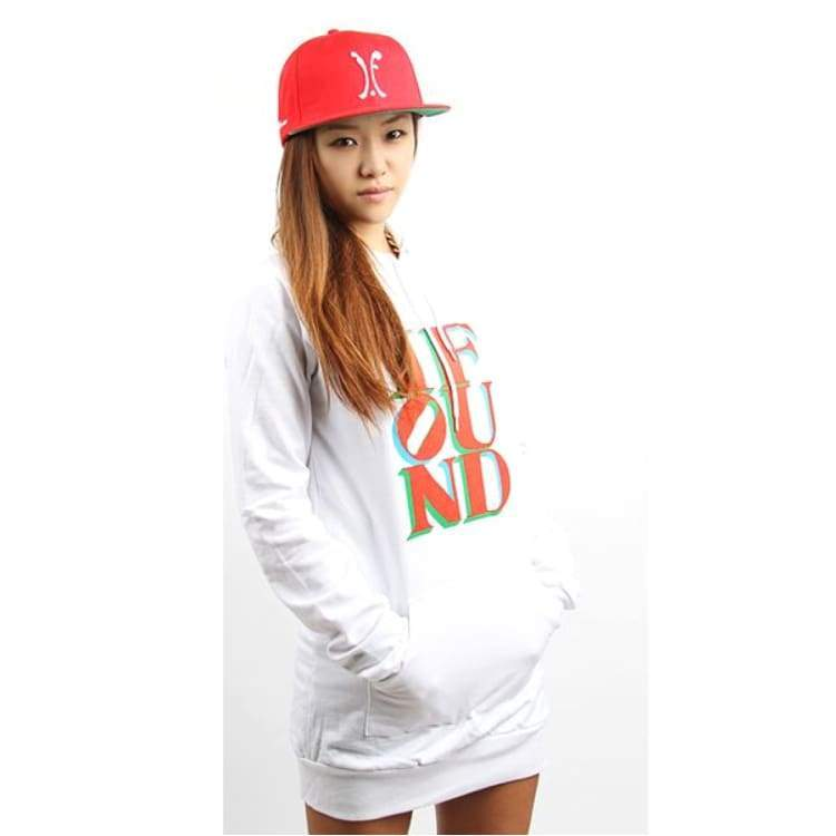 Hoodies & Sweaters: Ifound Women Love Hood - White - Ifound / White / One Size / Clothing Hoodies & Sweaters Ice & Snow Ifound On Sale |