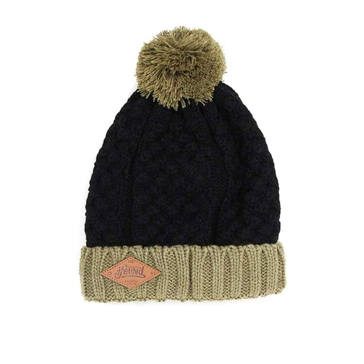 Headwear / Beanies: Ifound Womens Casual Beanie - Black - Ifound / Black / Accessories Beanies Black Head & Neck Wear Headwear / Beanies |