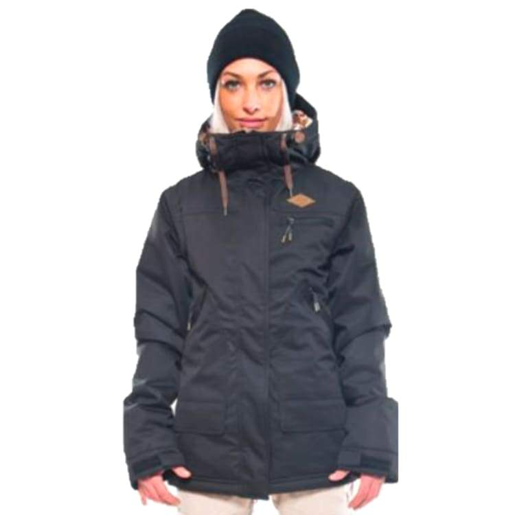 Jackets / Snow: Ifound Womens Cedar Jacket - Jet Black - S / Ifound / Black / 1516 Black Clothing Ice & Snow Ifound |