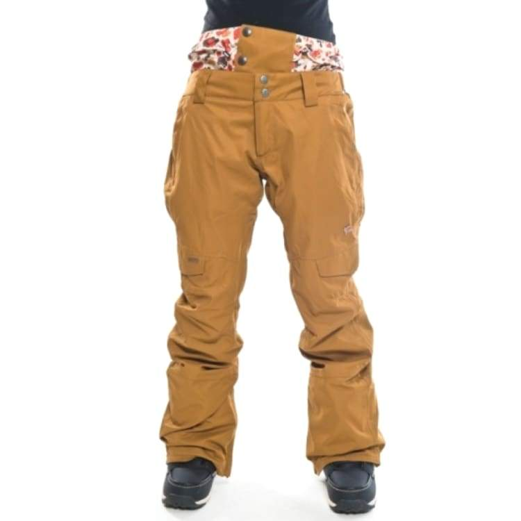 Pants / Snow: Ifound Womens Dailygrind 2 Pants - Bronze Brown - S / Ifound / Bronze Brown / 1516 Bronze Brown Clothing Ice & Snow Ifound |