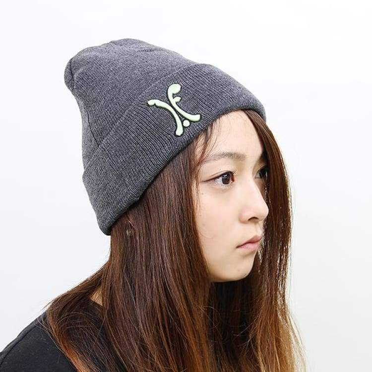 Headwear / Beanies: Ifound Womens Pg Beanie - 2Color - Ifound / Charcoal / Accessories Beanies Charcoal Green Head & Neck Wear |
