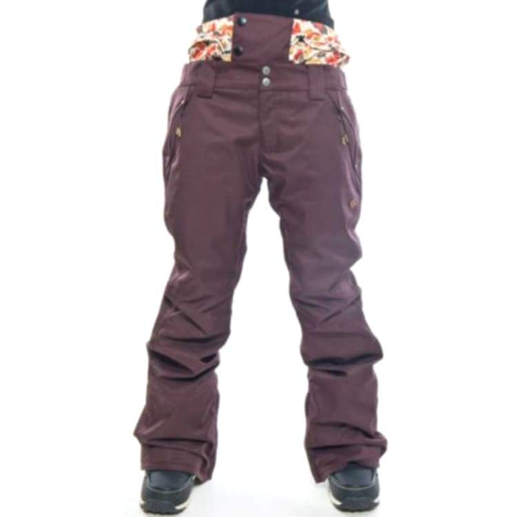 Pants / Snow: Ifound Womens Tacoma Pants - Fudge - M / Ifound / Fudge / 1516 Clothing Fudge Ice & Snow Ifound | Ocjp-Yorozwagon-16If3205-Fud