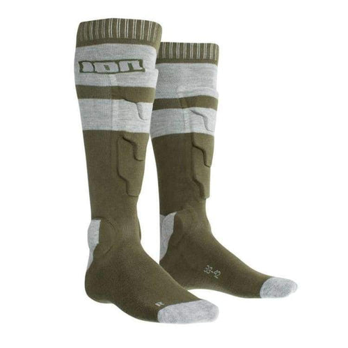 Protectors / Shin Guard: Ion Bd-Socks 2.0 2018 - Bike - Ion / Brown / Euro: 35-38 / Brown Cycling Gear Ion Land |