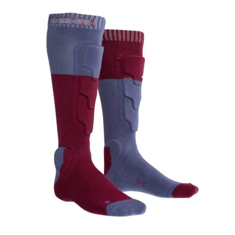 Protectors / Shin Guard: Ion Bd-Socks 2.0 2018 - Bike - Ion / Red / Euro: 35-38 / Brown Cycling Gear Ion Land |