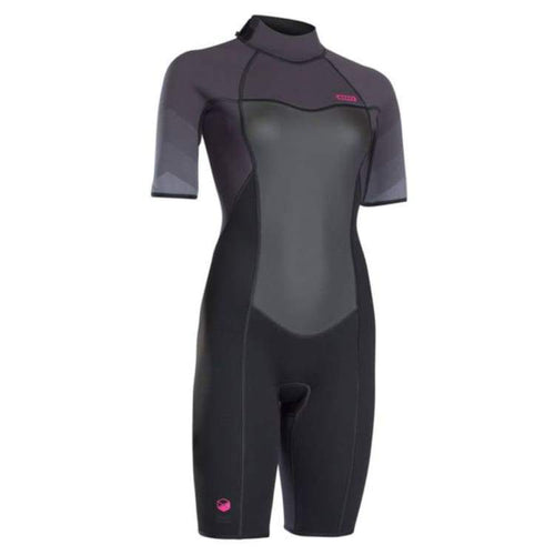 Wetsuits / Shorty: Ion Jewel Element Shorty Ss 2 5 Dl - Ws18546Io - Ion / M / Black / Black Gear Ion Jet Skiing On Sale |