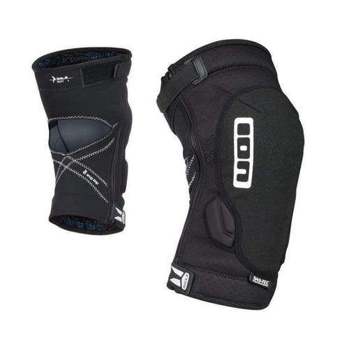 Protectors / Knee Guard: Ion K-Lite Zip 2018 - Bike - Ion / Black / S / Black Cycling Gear Grey Ion | Occn-Whiteline-Bp18Io986-Blk-S