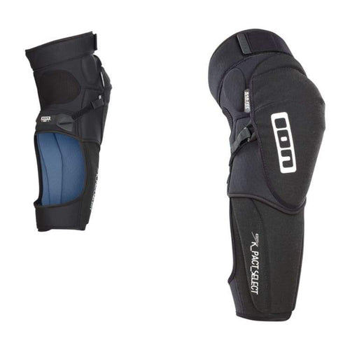 Protectors / Knee Guard: Ion K-Pact_Select 2018 - Bike - Ion / Black / S / Black Cycling Gear Grey Ion | Occn-Whiteline-Bp18Io988-Blk-S