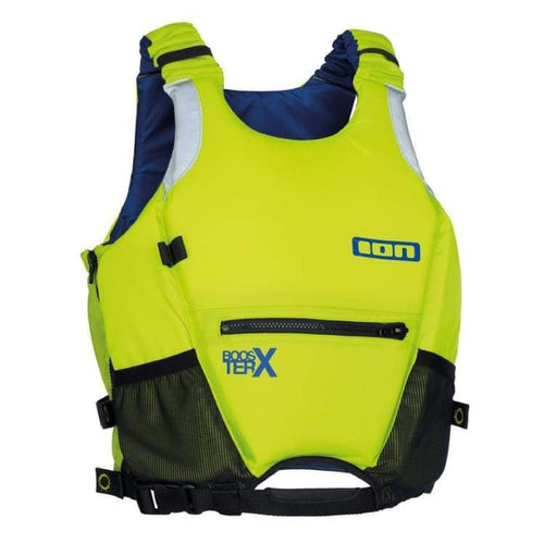 Lifevests / Approved: Ion Kids Booster X Vest - Lime - Ion / 10/ 140 / Lime / Gear Ion Kids Lifevests Lifevests / Approved |