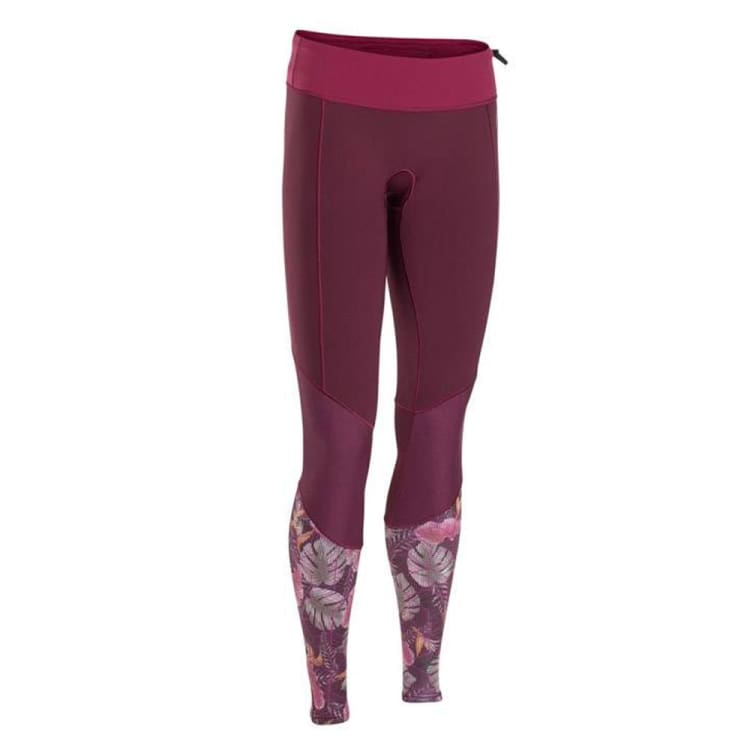 Wetsuits / Bottom: Ion Muse Long Pants 1.5 Dl Cw18525Io - Ion / Cherry / S / Cherry Gear Ion Jet Skiing On Sale | Ochk-Windshop-Cw18525Io-1