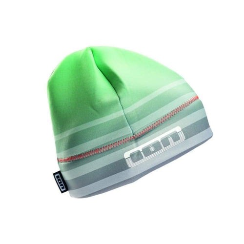 Wetsuits / Headwear: Ion Neo Layer Cake Beanie - Nb14Io076 - L / Green / Ion / Accessories Green Ion Jet Skiing Mens | Ochk-Windshop-
