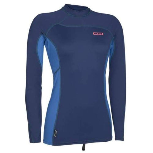 Rashguards & Tops: Ion Rashguard Women Ls - Rg16595Io - L / Blue / Ion / Blue Clothing Emerald Gear Ion | Ochk-Windshop-Ion-Rg16595Io-1