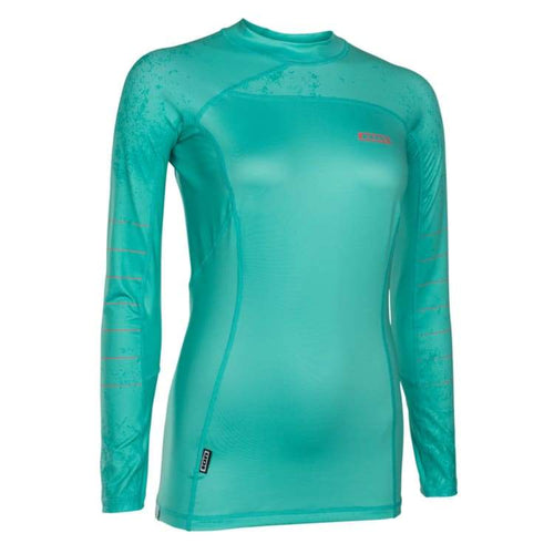 Rashguards & Tops: Ion Rashguard Women Ls - Rg18595Io - M / Green / Ion / Black Clothing Gear Green Ion | Ochk-Windshop-Ion-Rg18595Io-5