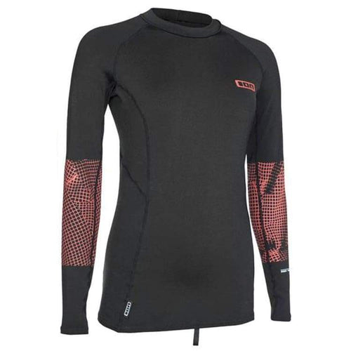 Wetsuits / Top: Ion Thermo Top Women Ls Cw18594Io - Ion / Coal / Xs / Coal Gear Ion Jet Skiing On Sale | Ochk-Windshop-Cw18594Io-1