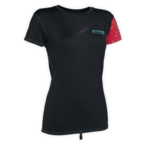 Wetsuits / Top: Ion Thermo Top Women Ss Cw16544Io - S / Black / Ion / Black Gear Ion Jet Skiing Sup | Ochk-Windshop-Cw16544Io