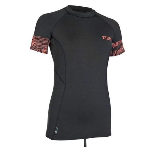 Wetsuits / Top: Ion Thermo Top Women Ss Cw18544Io - Ion / Coal / M / Coal Gear Ion Jet Skiing On Sale | Ochk-Windshop-Cw18544Io-