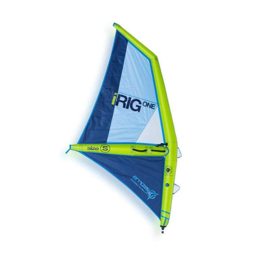 Windsurf Rigs: Irig One: The First Inflatable Windsurf Rig Ever Made - Lime [S] - S / Lime / Irig / Gear Lime On Sale S Water |