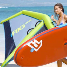 Windsurf Rigs: Irig One: The First Inflatable Windsurf Rig Ever Made - Lime [S] - Gear Lime On Sale S Water