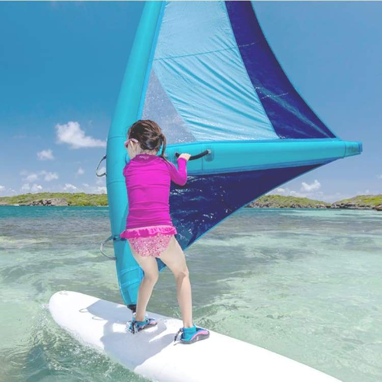IRIG ONE : THE FIRST INFLATABLE WINDSURF RIG EVER MADE - TURQUOISE [XS]