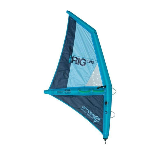 Windsurf Rigs: Irig One: The First Inflatable Windsurf Rig Ever Made - Turquoise [Xs] - Xs / Turquoise / Irig / Gear On Sale Turquoise Water