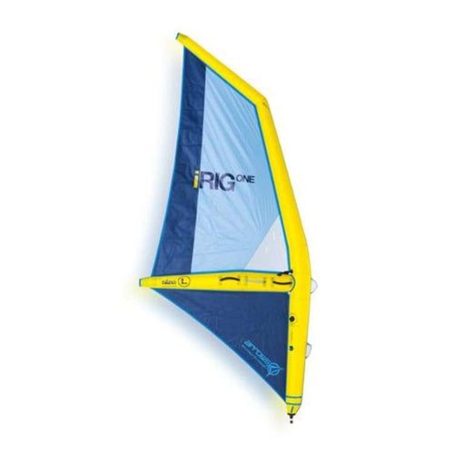 Windsurf Rigs: Irig One: The First Inflatable Windsurf Rig Ever Made - Yellow [L] - L / Yellow / Irig / Gear On Sale Turquoise Water Wind