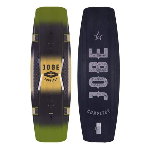 Wakeboards: Jobe Conflict Flex Wkb Series Green 2017 - 138 / Green / Jobe / Gear Green Jobe Mens On Sale | Occn-Whiteline-272317102138