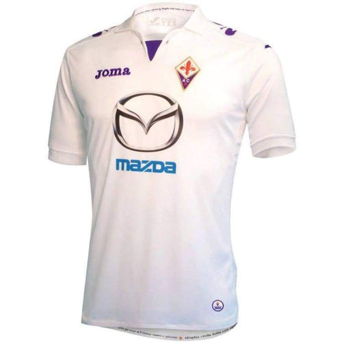 Jerseys / Soccer: Joma Florentina 13/14 (A) S/s Jersey Fi10101213 - Joma / S / White / 1314 Away Kit Clothing Fiorentina Football |