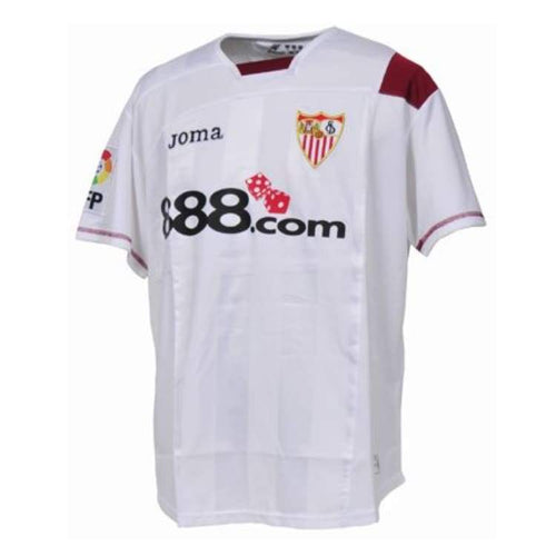 Jerseys / Soccer: Joma Sevilla 07/08 (H) S/s 2000.98.0107 - Joma / S / White / 0708 Clothing Football Home Kit Jerseys |