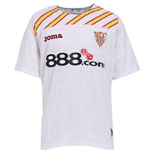 Jerseys / Soccer: Joma Sevilla 08/09 (H) S/s Uefa 2000.98.0108 - Joma / S / White / 0809 Clothing Football Home Kit Jerseys |