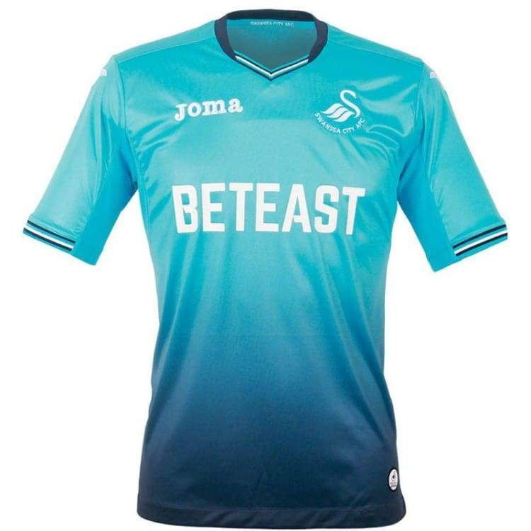 Jerseys / Soccer: Joma Swansea City 16/17 (A) S/s 101021R16 - Joma / S / Blue / 1617 Away Kit Blue Clothing Jerseys | Ochk-Sfalo-101021R16