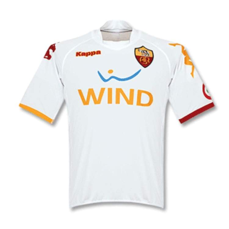 Jerseys / Soccer: Kappa As Roma 08/09 (A) S/s - Kappa / Xl / White / 0809 As Roma Away Kit Clothing Football | Ochk-Sfalo-Ssita11080A-1