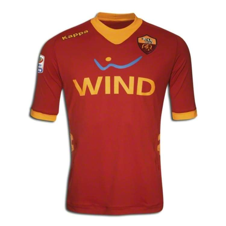 Jerseys / Soccer: Kappa As Roma 11/12 (H) S/s - Kappa / S / Red / 1112 As Roma Clothing Football Home Kit | Ochk-Sfalo-Ssita11110H-1