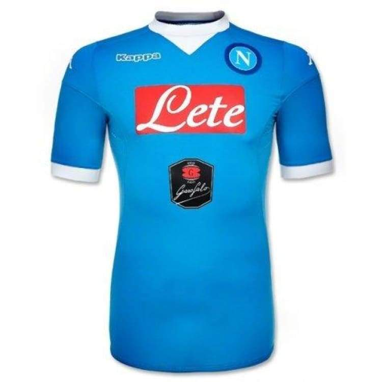 Jerseys / Soccer: Kappa Napoli 15/16 (H) S/s Jersey 302Gg40 - Kappa / S / Blue / 1516 Blue Clothing Football Home Kit | Ochk-Sfalo-302Gg40-1