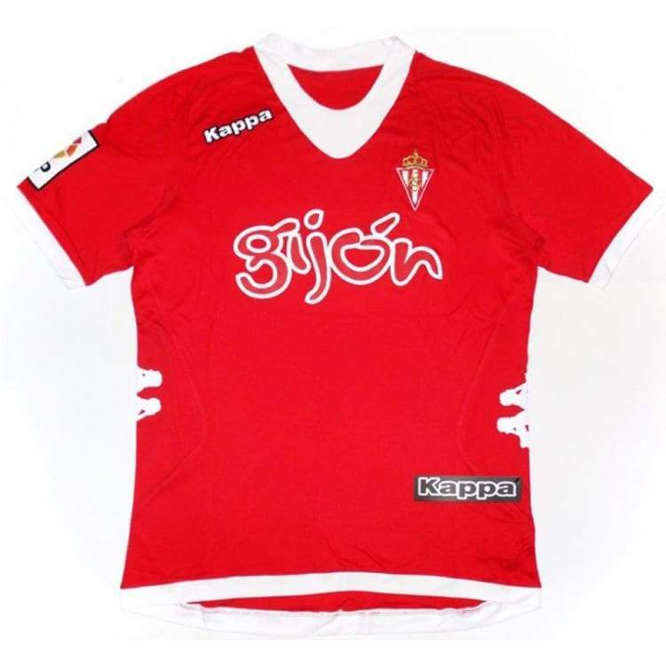 Jerseys / Soccer: Kappa Real Sporting Gijon 12/13 (A) S/s Kf-302Qzn0-901 - Kappa / L / Red / 1213 Away Kit Clothing Football Jerseys |