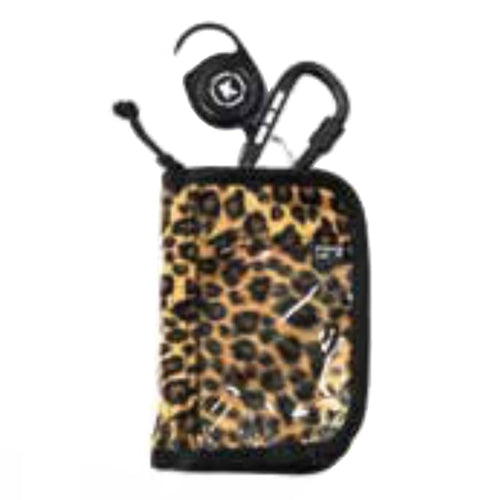 Cases: KIDONA HALFROUND PASS-LEOPARD - Kidona / Free / Leopard / 1920 Accessories Accessory Cases Bags BRUINS | OCJP-KIDONA-19SWK17-LEO