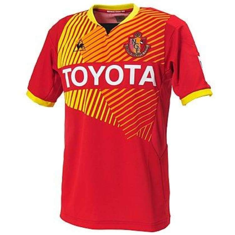 Jerseys / Soccer: Le Coq Sportif Nagoya Grampus 12/13 (H) S/s Acl Qh-74132Gr - Le Coq Sportif / Jaspo: M / Red / Clothing Football Home Kit