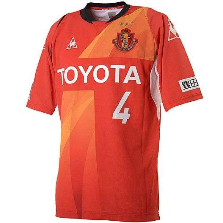Jerseys / Soccer: Le Coq Sportif Nagoya Grampus 14/15 (H) S/s Qh74114Gr-Red - Jaspo: S / Orange / Le Coq Sportif / 1415 Clothing Football