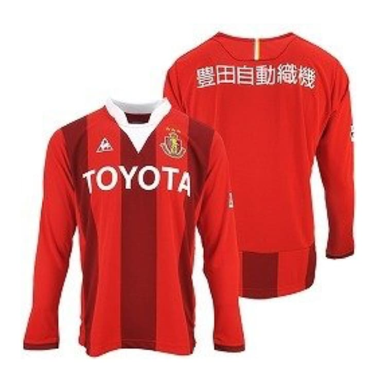 Jerseys / Soccer: Le Coq Sportif Nagoya Grampus 15/16 (H) Qh84215Gr-Red - Le Coq Sportif / Jaspo: S / Red / 1516 Clothing Football Home Kit