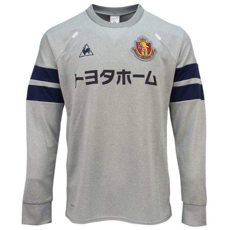 Hoodies & Sweaters: Le Coq Sportif Nagoya Grampus 16/17 Sweater Top Qh-16216Gr-Mgr - Le Coq Sportif / Jaspo: S / Grey / 1617 Clothing