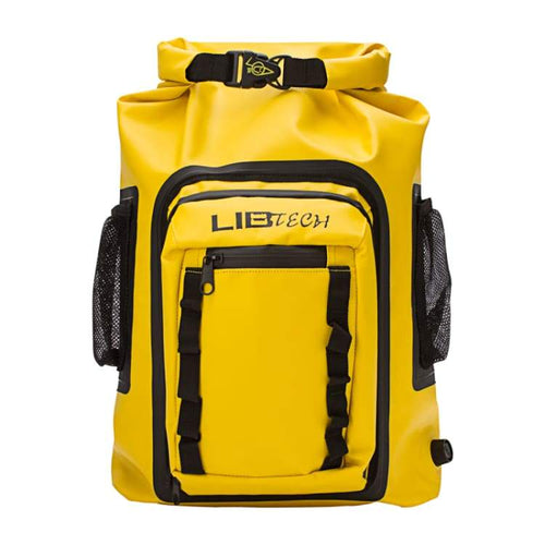 Bags / Waterproof: Lib Tech Wharf Rat Dry Bag - Yellow - Lib Tech / Yellow / F / 2017 Accessories Bags Bags / Waterproof Ice & Snow |
