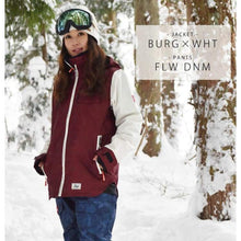 Jackets / Snow: Lilica Rose 2017 Ladies Ski And Snowboard Jacket [Nvy X Flw]+Pants Set [Beige] [Vt-02] - Sj-01 / S / Lilica Rose / 1617